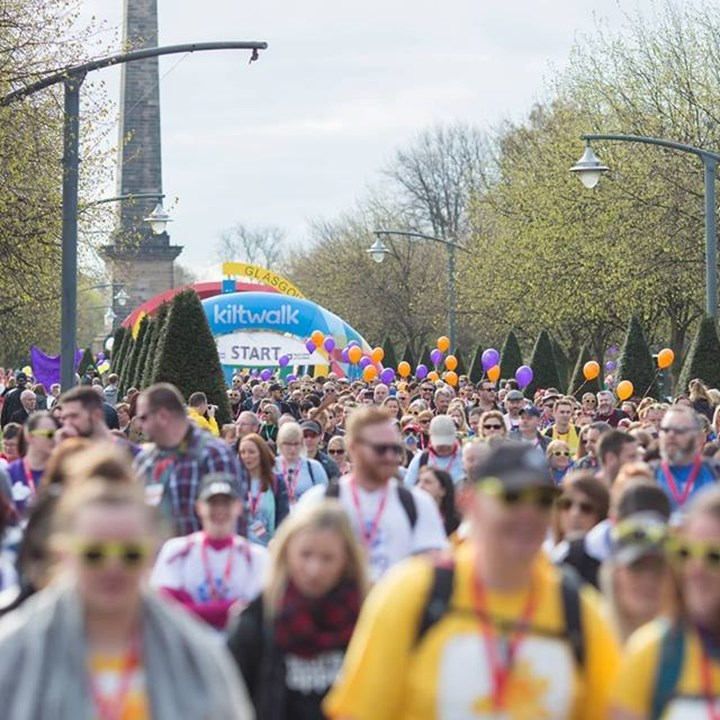 Scotland's Virtual Kiltwalk 2021