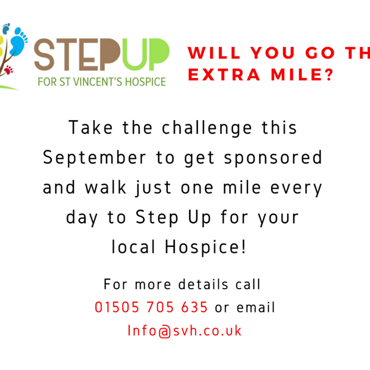 Will You Take the Step Up Challenge?
