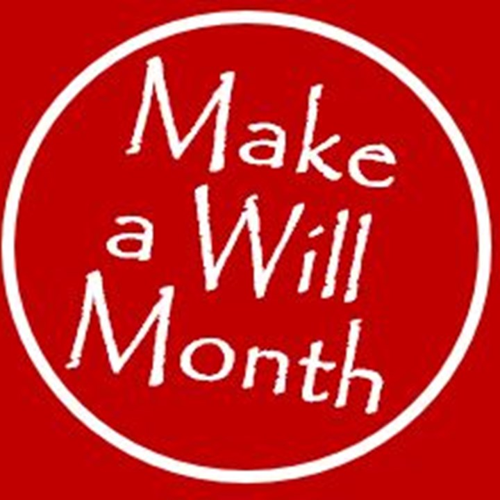 October is Make a Will Month at St. Vincent's Hospice!